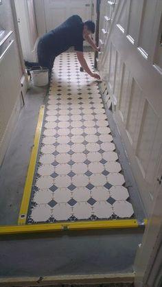 Victorian floor tiles gallery, Original Style floors, period floors Source by carolroda Victorian Tiles, Victorian Terrace, Victorian Decor, Victorian House, Hall Tiles, Tiled Hallway, Hall Flooring, Hallway Inspiration, Hallway Ideas