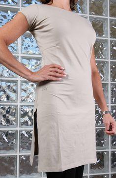 Esthetician jacket apron white fashion apron fitted for Spa uniform cotton