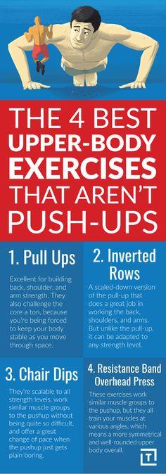 The 4 Best Upper-Body Exercises That Aren't Push-Ups