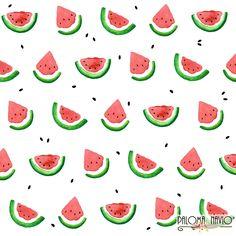 Watermelon slices by Paloma Navio