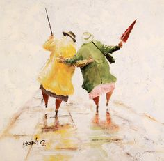 Des Brophy (UK) 'The Happy Pensioners'. May have to get this one :)