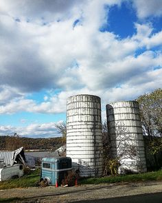 Another great farm landscape from an old county road is not available on my online Etsy shop.  I ship worldwide.  Click on the link for details and to order.  Two White Wooden Silos Photo  Farm Fine Art by AnneFreemanImages  www.etsy.com/shop/AnneFreemanImages