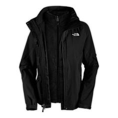 The North Face Boundary Triclimate Jacket (women's) - Tnf Black 3 In 1 Jacket, North Face Jacket, Vest Jacket, Winter Wear, Autumn Winter Fashion, Winter Style, North Face Women, The North Face, North Faces
