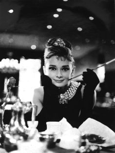 Audrey Hepburn Breakfast at Tiffany's Poster - CULTURE POSTERS