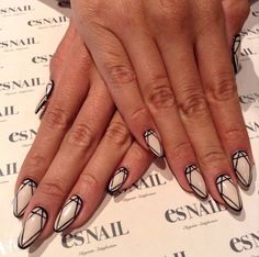 Awesome pattern nails
