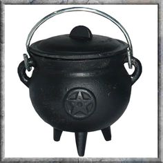 Nemesis Now Pentagram Cauldron Wiccan & Witchcraft Witch Halloween in Home, Furniture & DIY, Metaphysical & New Age, Pagan & Wiccan Items Wiccan, Magick, Homeware Uk, Traditional Witchcraft, Hedge Witch, Herbal Cure, Hearth And Home, Witch House, Kitchen Witch
