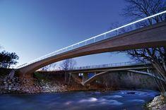 Sava Footbridge,© Miran Kambič