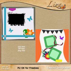 Designer Challenge - Create Layout Template   Pixel Scrapper digital scrapbooking forums - page 2
