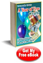 24 Handmade Craft Ideas from 2010: A Year of Free Crafts