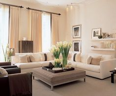 Interior Design by Kelly Hoppen. Photograph by Andrew Twort