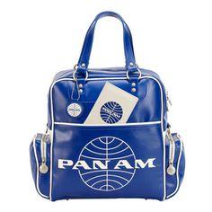 My design inspiration: Pan Am '70s Original Bag Blue on Fab.