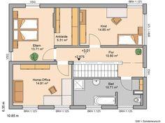 Bauhaus Etos von Kern-Haus | Offene Küche als Mittelpunkt