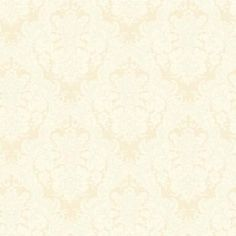 York Wallcoverings 56 sq. ft. Document Damask Wallpaper-SM8499 at The Home Depot Cream