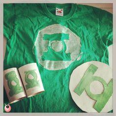 Make a home made superhero villain costume The Green Lantern