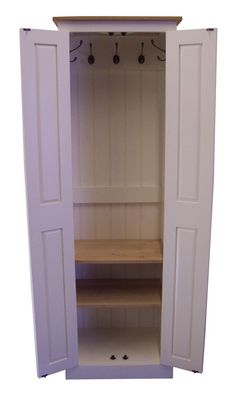 Hall / Utility Room / Cloak Room Shoe Storage Cupboard 80 cm Wide