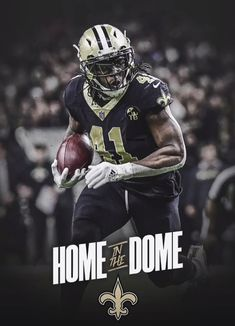 3 more days! Who will be in the dome this Monday? Best Football Team, Football Season, Nfl Football, Football Players, American Football, Saints Players, Nfl Saints, New Orleans Saints Logo, New Orleans Saints Football