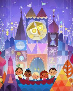 Small World une attraction à Disney world !