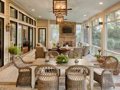 Design your Houston custom home with Frankel Building Group. Come experience our enjoyable and no-stress home building process, where nothing is too custom. Outdoor Living Rooms, Outdoor Spaces, Custom Home Builders, Custom Homes, 4 Season Room, Best Decor, Backyard Patio Designs, Covered Patio Design, Outdoor Kitchen Design