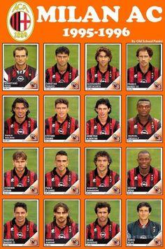 AC Milan sezonie 1995/1996 • Roberto Baggio, George Weah, Zvonimir Boban, Paolo Maldini Marcel Desailly - kozacki skład • Wejdź i zobacz #acmilan #milan #football #soccer #sports #pilkanozna #futbol #sport #memy #memes