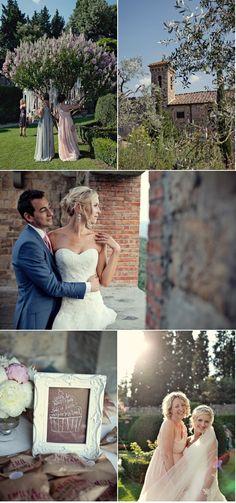 lavender wedding in Florence