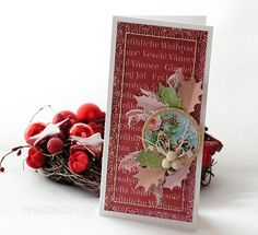 Card by Mamajudo / P13 scrapbooking paper collections
