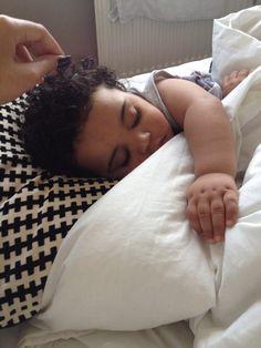 Sleeping beauty! Awe she is so cute I wanna cry