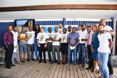 Members of the Barbados Cares Initiative