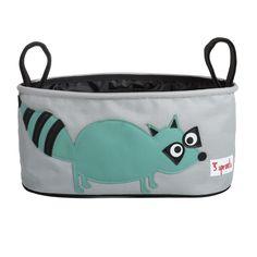 Kinderwagen Tasche Waschbär von 3 Sprouts
