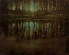 Edward Steichen---Moonrise--- 1904