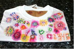 make sharpie tie-dye t-shirts