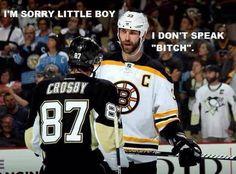 A little hockey humor...
