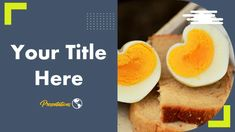 This Creative Free Egg Presentation Template comes with various features : Easy to use and customize, Number of Various Creative. Powerpoint Design Templates, Presentation Templates, Themes Free, Microsoft Powerpoint, Protein, Food And Drink, Eggs, Google, Egg