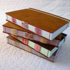 Shoe Leather Notebook with envelopes - Kate Bowles