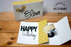 Hobby di Carta - Il blog: CARDS: Una card per un compleanno!