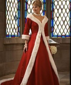 Unique Long Sleeves Two Pieces Christmas Red Wedding Dresses, winter wedding dresses, christmas wedding dresses, black friday big discount price Christmas Wedding Dresses, Red Christmas Dress, White Christmas, Christmas Star, Beautiful Christmas, Merry Christmas, Elegant Christmas, Christmas Fashion, Christmas Movies
