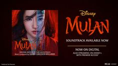 Loyal. Brave. True. Stream the all-new soundtrack to Disney's #Mulan. Disney Music, Disney Movies, Soundtrack Music, Food Themes, Disney Christmas, Disney Trips, Lettering, The Originals, Disney Princess
