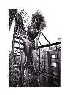 Liya Kebede, by Mario Sorrenti  #photography #fashion #hair