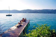 woerthersee, lake in austria. some of my best vaccations sailing in my teenage years What A Wonderful World, Wonderful Places, Austria Travel, Going Away, Teenage Years, Future Travel, Vacation Spots, First World, Wonders Of The World