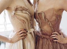 whatwouldkhaleesiwear:  What Would Khaleesi Wear?Beige and nude Rodarte