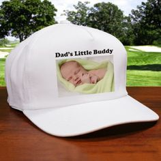 Personalized Picture Perfect Photo Hat - Gifts Happen Here