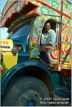 India's colorful trucks