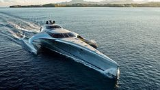 """Residents and tourists were speechless, when they saw the state-of-the-art """"Adastra"""" yacht, which was found in Mykonos Island Luxury Blog, Luxury Lifestyle, Mykonos Island, Below Deck, Yacht For Sale, Yacht Boat, Yacht Design, Boat Design, Super Yachts"""