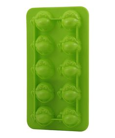 This TMNT Turtle Head Ice Cube Tray by Teenage Mutant Ninja Turtles is perfect! #zulilyfinds
