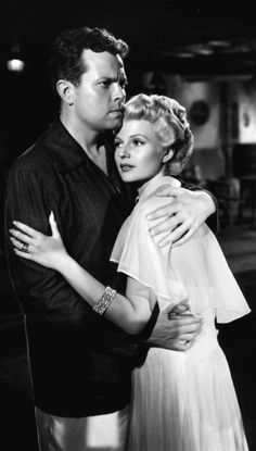 Rita Hayworth, Orson Welles - The Lady from Shanghai (Orson Welles,1947)