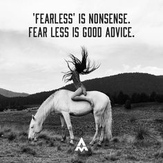 People use the word fearless and the phrase 'no fear' all the time. I've even been called a 'fearless' leader. I can hardly go an hour without some form of fear. Aubrey Marcus, It Matters To Me, Empowering Quotes, My Emotions, Good Advice, Thought Provoking, I Can, Words, Instagram