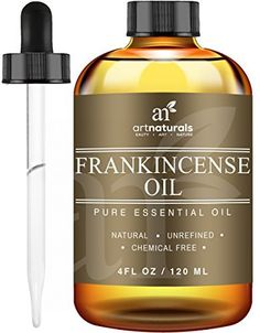 (My review of Art Naturals Frankincense Essential Oil - Large 4 oz - 100% Pure & Natural Undiluted Therapeutic Grade -Best Premium Quality Oil) -  Oh, boy, what a day! You need a break from anxiety, and ArtNaturals' Frankincense Essential Oil is there to calm, fight fatigue, and increase circulation (good-bye, stress headache). That's not all it can do. Used with a carrier oil, it helps heal eczema, psoriasis and dandruff, all...