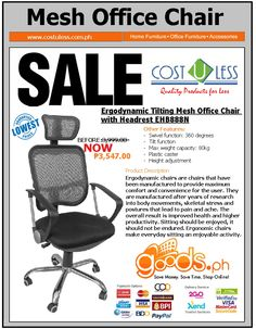 office chair sale kids reading chairs 410 best cost u less offer banner images stands home furniture depot mesh for furnitures online shopping ph