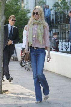 Claudia Schiffer - Celebrity Fans | MiH Jeans - The Original British Jeans Brand