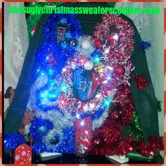 Check out this item in my Etsy shop https://www.etsy.com/listing/206252214/houston-texans-light-up-ugly-christmas