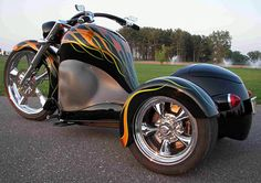 Cosmo Trike: Ready to Ride -  Three-Wheeled Hot Rod Motorcycle